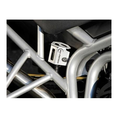 Protection de réservoir de liquide de frein Gris pour Triumph Tiger 800XC 2010-2014 et Yamaha MT-10