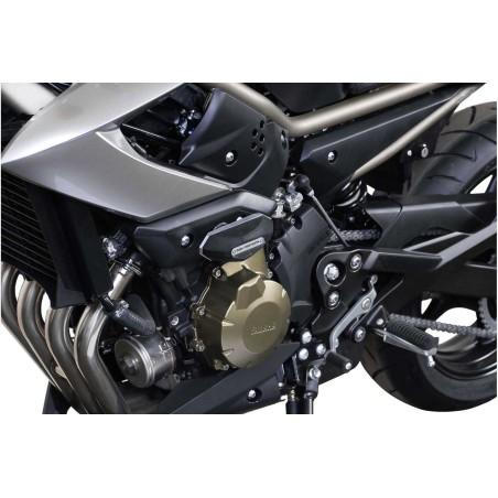 Kit de patin de cadre Noir Yamaha XJ6 2008-2012 / XJ6 Diversion 2008 et +