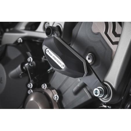 Kit de patin de cadre Noir Yamaha MT-09 2013 et + / Yamaha Tracer 900 2014 et +