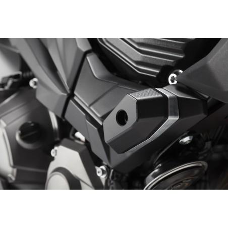 Kit de patin de cadre Noir Kawasaki Z 800 2012 et +