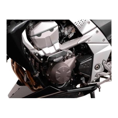 Kit de patin de cadre Noir Kawasaki Z 750 2007-2012 / Z 750 R 2011-2012