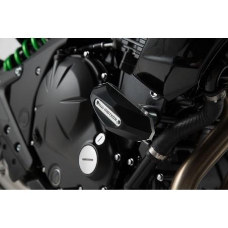 Kit de fixation pour patin de cadre Noir Kawasaki ER-6n 2012 et +