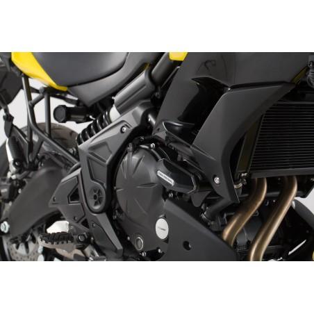 Kit de patin de cadre Noir Kawasaki Versys 650 2015 et +