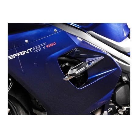 Kit de patin de cadre Noir Triumph Sprint GT 2010 et +