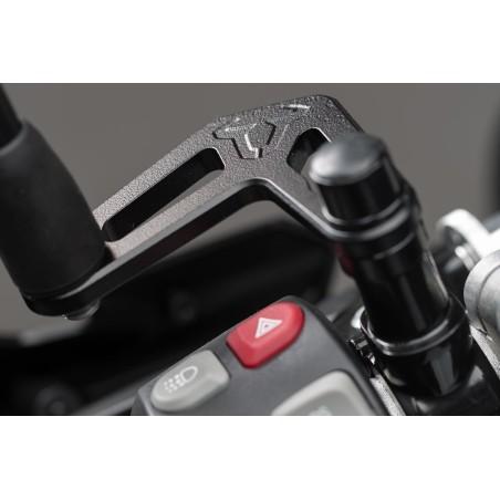 Extension de rétroviseur Noir SW-MOTECH pour BMW S1000XR, RnineT, R1200GS, R1200R, K1300R, F700GS, F800GS et F800R
