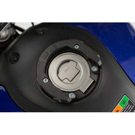 Anneau de réservoir QUICK-LOCK EVO Noir 5 Vis Yamaha II/Ducati/MV Agusta