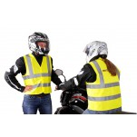 Gilet jaune 100 % Polyester. Taille L. Jaune fluo