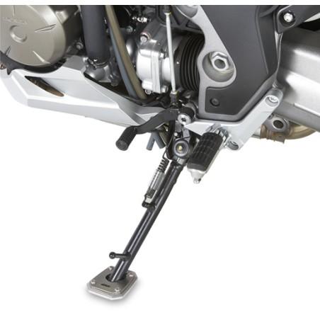 Semelle de béquille latérale ES1110 GIVI pour Honda  VFR 1200 X Crosstourer / DCT 2012 et +