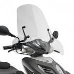 Bulle pare-brise GIVI incolore pour scooter Keeway RY6 50 - 2010-2011