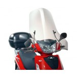 Bulle pare-brise GIVI incolore pour scooter Kymco People S50-125-200 - 2005-2015