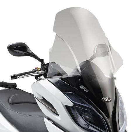 Bulle pare-brise GIVI incolore pour scooter Kymco KXCT 125i et KXCT 300i - 2013-2016