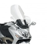 Bulle pare-brise GIVI incolore pour scooter Kymco Xciting 250-Xciting 300-Xciting 500 - 2005-2009