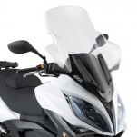 Bulle pare-brise GIVI incolore +25 cm pour scooter Kymco Xciting R300i - Xciting R500i - 2009-2014