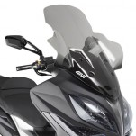 Bulle pare-brise GIVI incolore +28,5 cm pour scooter Kymco Xciting 400i - 2013-2016