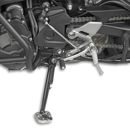 Semelle de béquille latérale ES2122 GIVI pour Yamaha XSR900 16-18, Tracer 900 15 et + / GT 18 et +