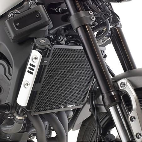 Grille de radiateur spécifique PR2128 GIVI en acier inox peinte en noire pour Yamaha XSR900 2016-2017