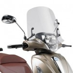 Bulle pare-brise GIVI incolore pour scooter Piaggio Beverly 125IE / 300IE 2010-2016 / Beverly 350 Sport Touring 2012-2016