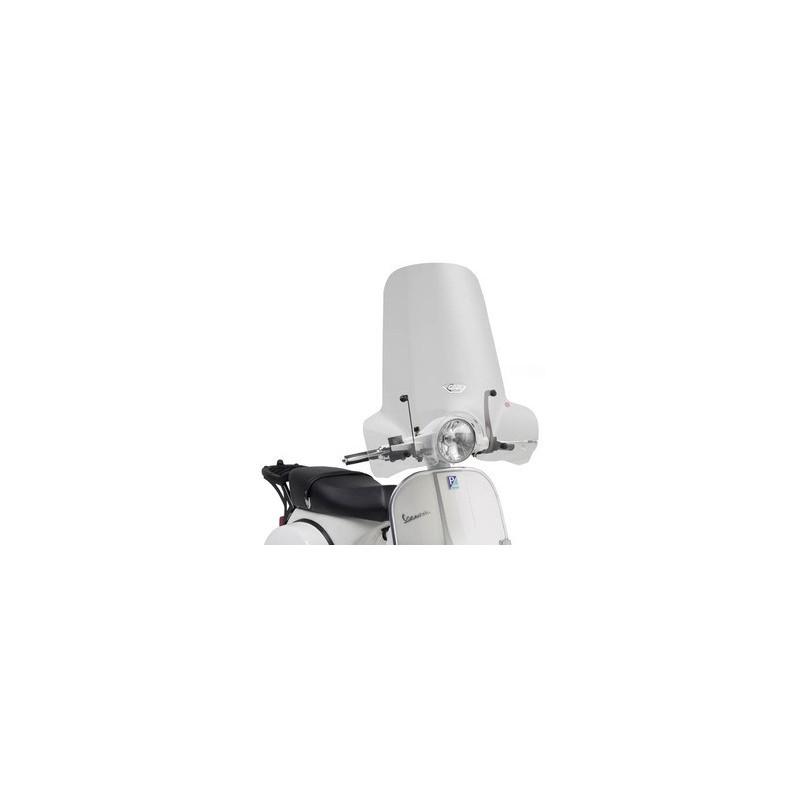 bulle pare brise givi incolore pour scooter piaggio vespa px125 et vespa px150 2011 2016 tech2roo. Black Bedroom Furniture Sets. Home Design Ideas