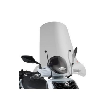 Bulle pare-brise GIVI incolore +8 cm pour scooter SYM HD2 125 / HD2 200 2011-2016