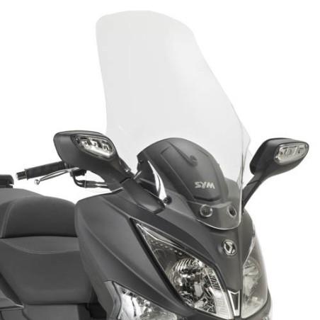 Bulle GIVI incolore +16,5 cm pour scooter SYM Joymax 300i  2012-2016