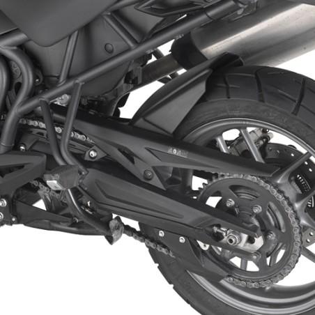 Passage de roue spécifique MG6401 GIVI en ABS couleur noire pour Triumph Tiger800 / XC / XR 2011 et +