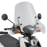 Bulle pare-brise GIVI incolore pour scooter MBK XOver 2010 / Yamaha BWS 125 2010-2016