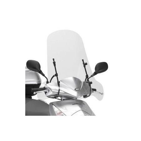 Bulle pare-brise GIVI incolore pour MBK Flame X125 2007-2012 / Yamaha Cignus X125 2007-2015