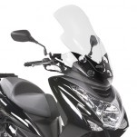 Bulle pare-brise GIVI incolore pour scooter MBK Skyliner S125 2014 / Yamaha Majesty S125 2014-2016
