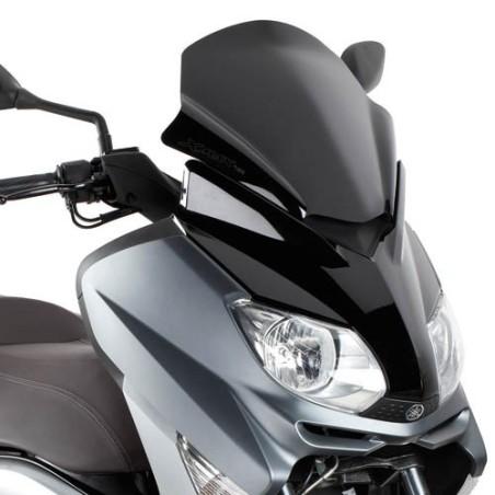 Bulle pare-brise GIVI noir brillant sport pour MBK Skycruiser 125 2010-2012 / Yamaha XMax125 - XMax250 2010-2013