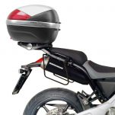 Kit spécifique T129 GIVI pour sacoches cavalières pour Yamaha MT03 2006-2014