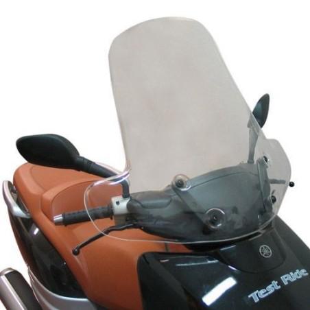 Bulle pare-brise GIVI incolore +22 cm pour scooter MBK Kilibre 300 2003-2007 / Yamaha XC300 Versity 2003-2007