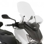 Bulle/PB GIVI incolore scooter MBK Evolys 125 / 250 2014-2016 / Skyliner 125 / 250 2014 / Yamaha XMax125-250 14-16 / 400 13-16