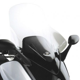 bulle pare brise givi incolore pour scooter yamaha tmax. Black Bedroom Furniture Sets. Home Design Ideas