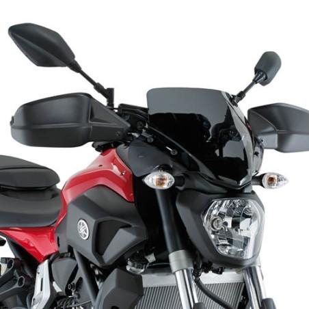 Bulle saute-vent GIVI noir pour moto Yamaha MT07 toutes années