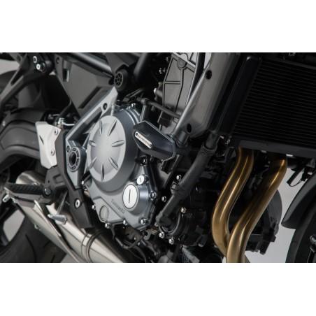 Kit de patins de cadre Noir SW-MOTECH pour Kawasaki Z650 2016
