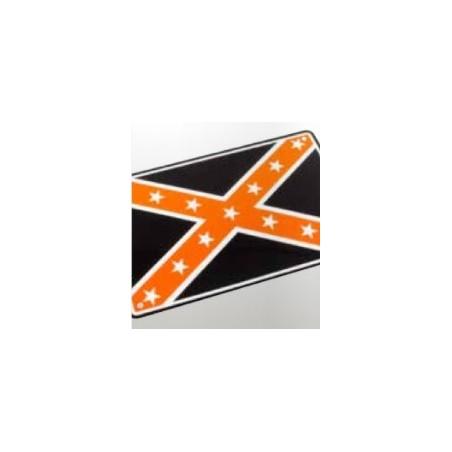 Plaque alu décorative Union Jack pour garage