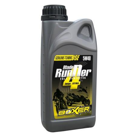 Huile moteur Boxer Blade Runner 100% synthèse 5W40 1 litre