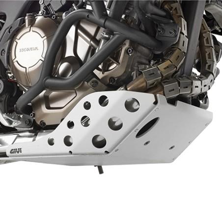 Kit RP144KIT GIVI pour monter le sabot moteur RP1144 sur moto sans sabot moteur d'origine pour Honda CRF1000L Africa Twin 2016-2