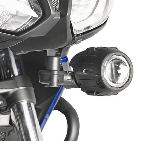 Kit d'attaches spécifiques LS2130 GIVI pour les projecteurs halogene S310, S320, S321 pour Yamaha Tracer700 2016-2017