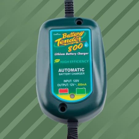 Chargeur de batterie Lithium résistant à l'eau Tender 800