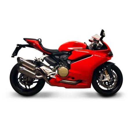 Tube intermédiaire / décatalyseur pour silencieux Termignoni pour Ducati 959 PANIGALE 2016-2017