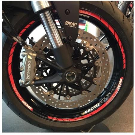 Décoration Jantes pour motos Ducati