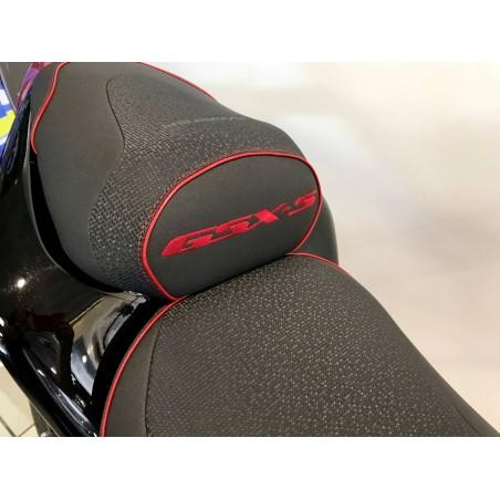 Selle Bagster READY noir liseré rouge pour Suzuki GSX-S 1000 2015 et +