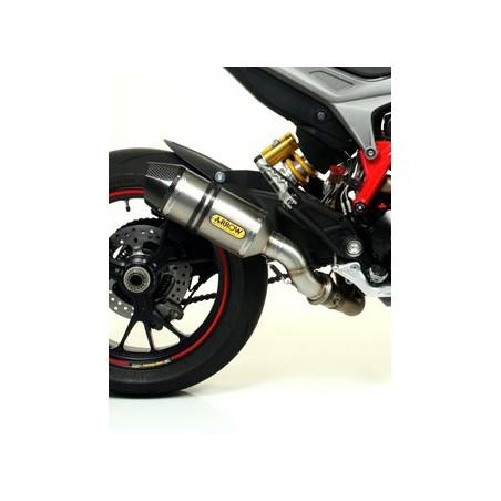 Silencieux RACE-TECH ARROW Titane pour Ducati Hypermotard et Hyperstrada 939 2016 et +