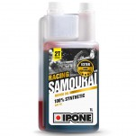 Ipone - Huile 2T SAMOURAI RACING 1L - 100% Synthèse
