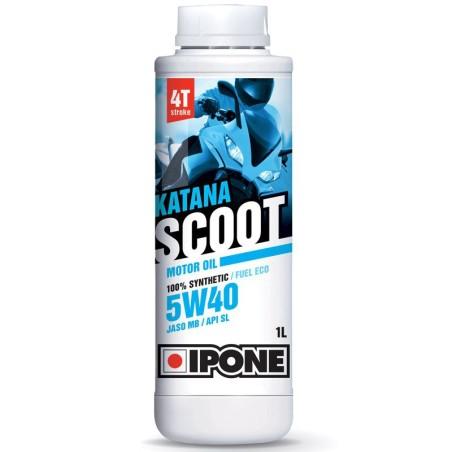 Ipone - Huile 4T 5W40 KATANA SCOOT 1L - 100% Synthèse