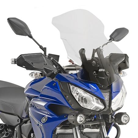 Bulle GIVI Haute protection incolore 56 x 41cm pour Yamaha Tracer 700 2016 et +