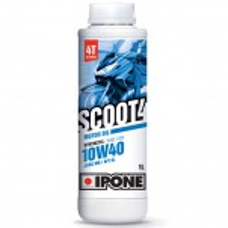 Ipone - Huile 4T 10W40 SCOOT 4 1L - Semi-synthèse