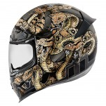 Casque intégral ICON Airframe Pro Cottonmouth