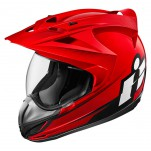 Casque intégral ICON Variant Doublestack Rouge